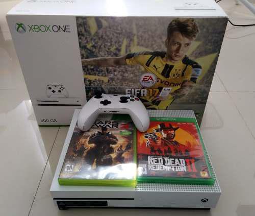 Xbox One Con 2 Juegos En Venta