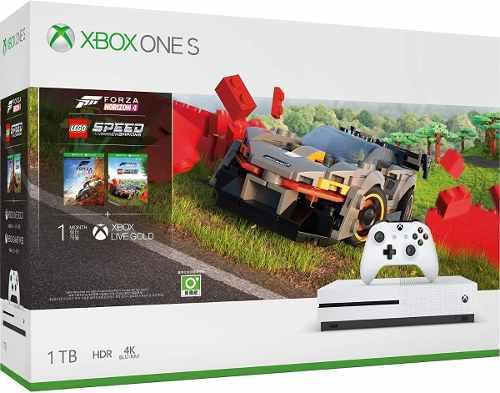 Xbox One S 1tb 4k Hdr Forza Horizon 4 + Dlc