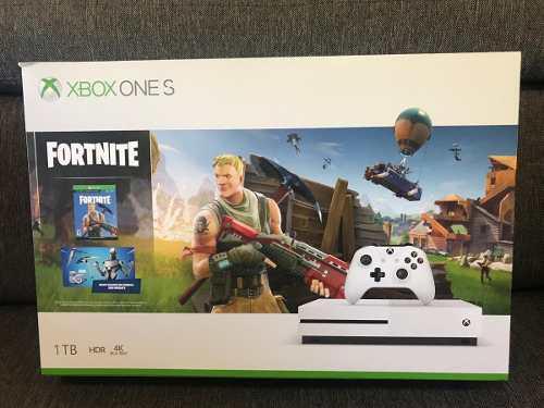 Xbox One S 1tb Con Fortnite Nuevo Sellado Envío Gratis