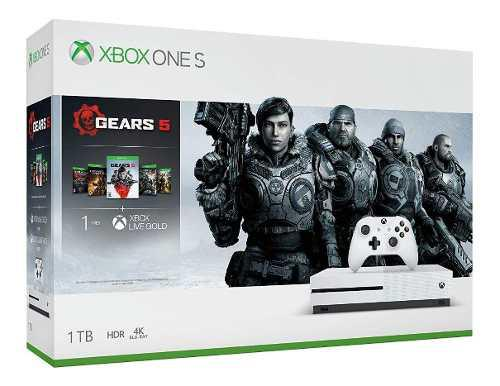 Xbox One S 1tb Con Gears Of Wars 5