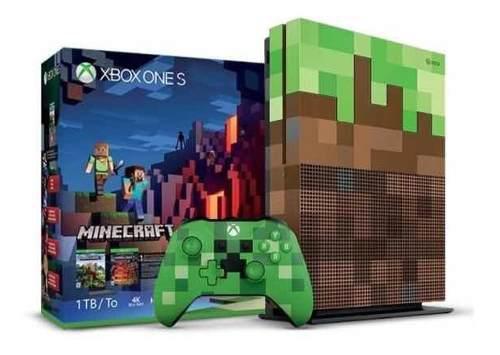 Xbox One S 1tb Edición Limitada Minecraft