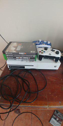 Xbox One S 500 Gb 5 Juegos, 2 Controles