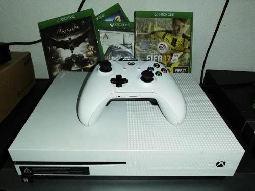 Xbox One S Consola Blanca 4k 1tb