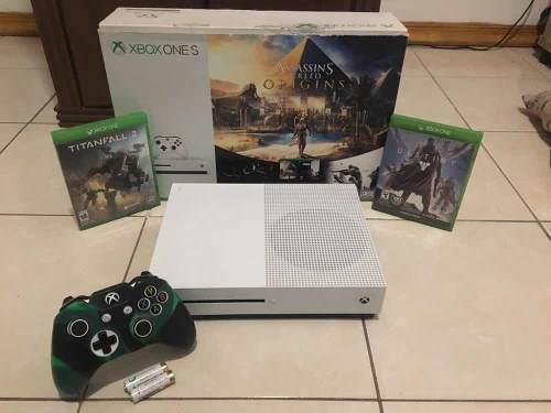Xbox One S De 1 Tb Con 10 Juegos