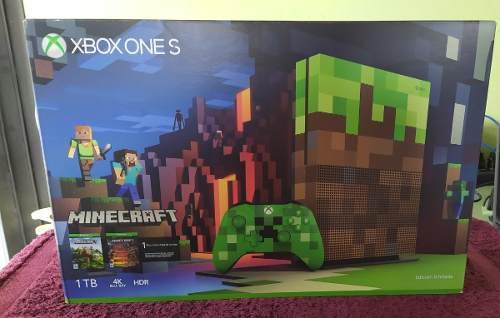 Xbox One S Edicion Limitada Minecraft 1 Tb