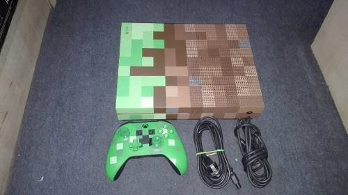 Xbox One S Edicion Minecraft De 1 Terabite,funcionando Perfe