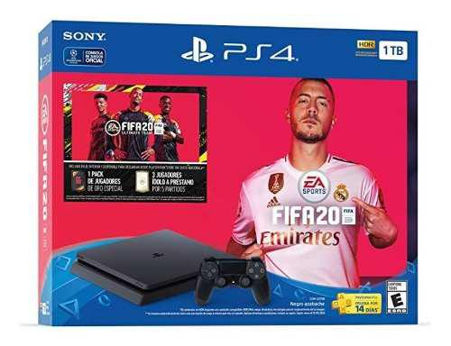 Consola Playstation 4 Slim Ps4 1tb Fifa 20 Nueva