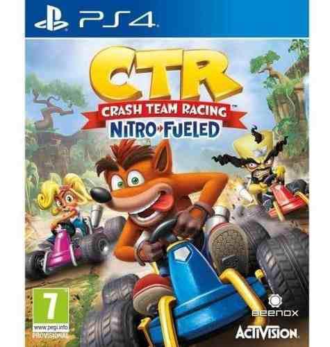 Crash Team Racing Nitro Fueld Ps4