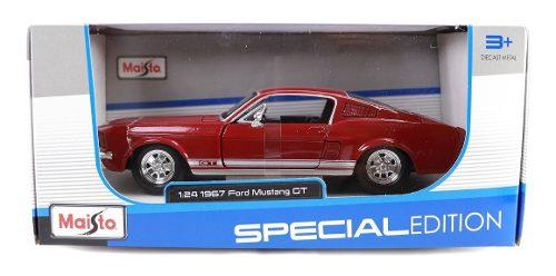 Ford Mustang Gt  Maisto Autos Escala Clasicos Metal