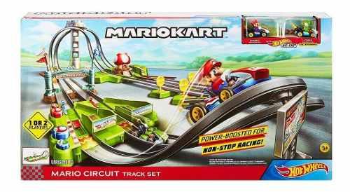 Hot Wheels Mario Kart Pista De Circuito Largo Mattel Gcp27
