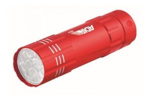 Lampara Linterna Mini 9 Led Aluminio Adir 484