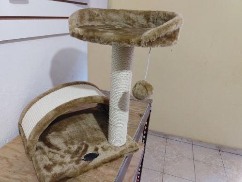 Mueble Rascadero Juguete Para Gato Con Arco