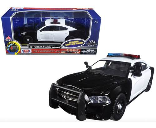 Patrulla Luz Sonido Dodge Charger Pursuit  Motormax 1/24