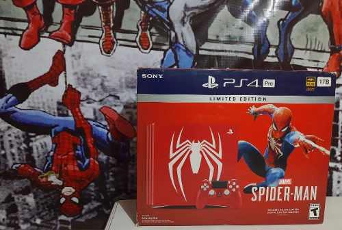 Vendo O Cambio Ps4 Pro Edicion Spider-man Bien Cuidado