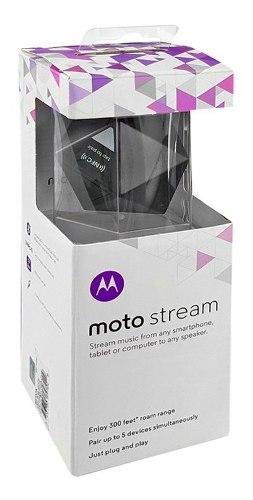 Adaptador Receptor Audio Bluetooth Motorola Stream n