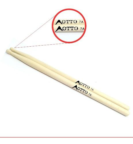Baquetas Para Bateria Natural Maple 7a Ax
