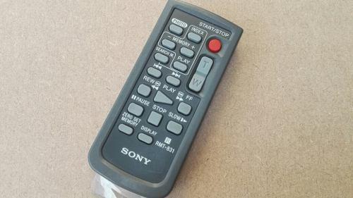 Control Nuevo Para Videocamara Sony