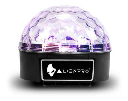 Esfera De Luz Alien Pro Erizo Hexa Audio-ritmico/6 Colores