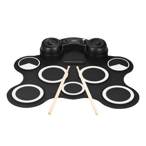 Kit D/batería Electrónica, Audio Digital Estéreo, Blanca