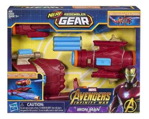Lanzador Ensamblable Iron Man Avengers Marvel