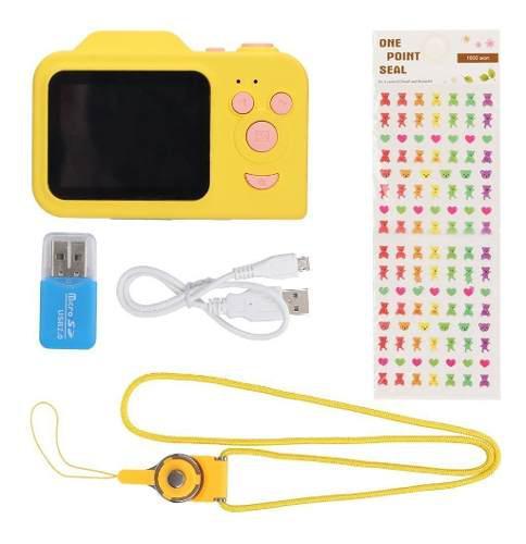 Mini Videocámara Digital Hd Portátil Para Niños, Color
