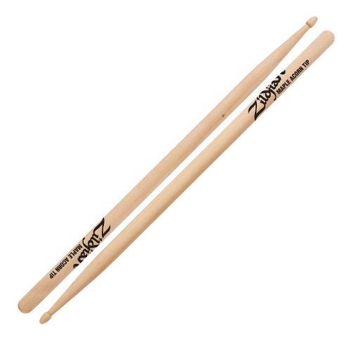 Par De Baquetas Bateria Zildjian Maple Acorn Tip Mpla Rock