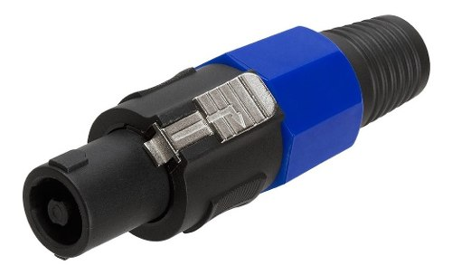 Plug Macho Speakon Tipo Neutrik 4 Vias Alta Calidad Conector