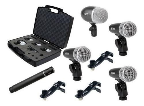 Set De Microfonos Proel P/bateria Dmh5xl