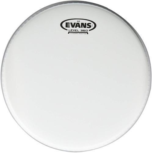 Set Parches Bateria Evans Level 360 G2 Coated 10 12 14 Pulg.