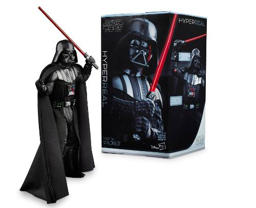 Star Wars Episodio 4 Black Series Hyperreal Darth Vader