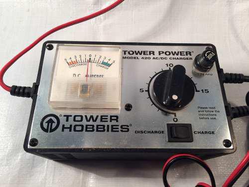 Cargador Tower Hobbies Ac/dc Para Baterías