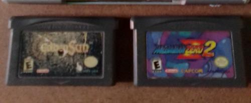 Golden Sun Y Megaman Zero 2, Los 2 Juegos D Game Boy Advance