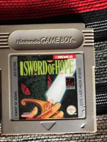 Juego Game Boy Isword Of Hope Original