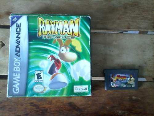 Juegos De Gba: Rayman Advance Y King Of Fighters