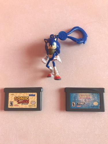 Juegos Sonic Game Boy Advance + Llavero