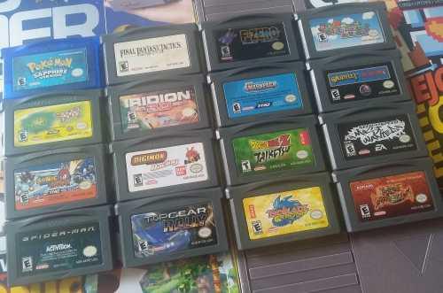 Lote De Juegos Originales Game Boy Advance