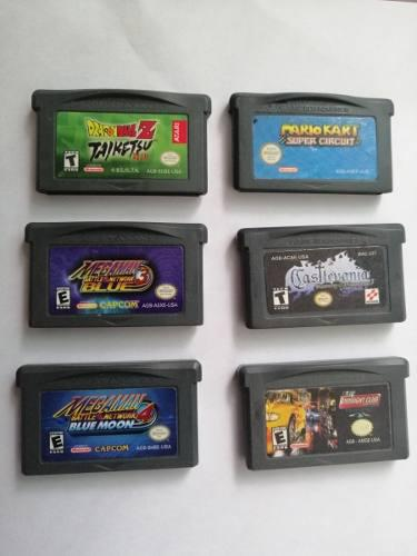 Pack Juegos Gameboy Advance (usados)