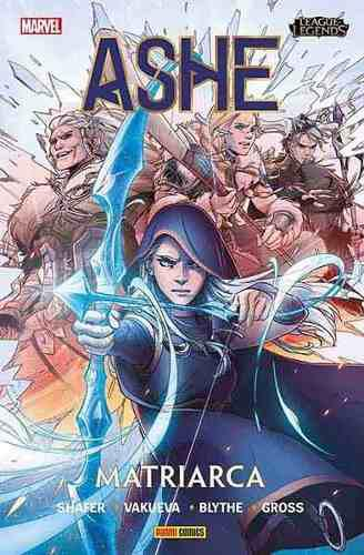 Panini Comics League Of Legends Ashe N.1