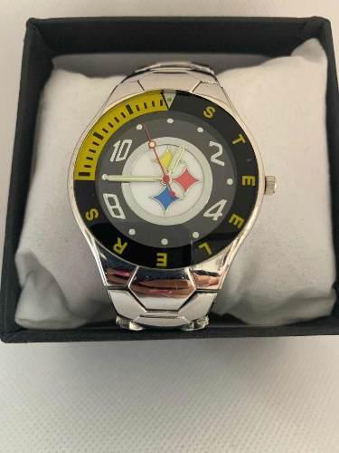 Reloj Deportivo Acereros De Pitsburg De Colección Mod F2