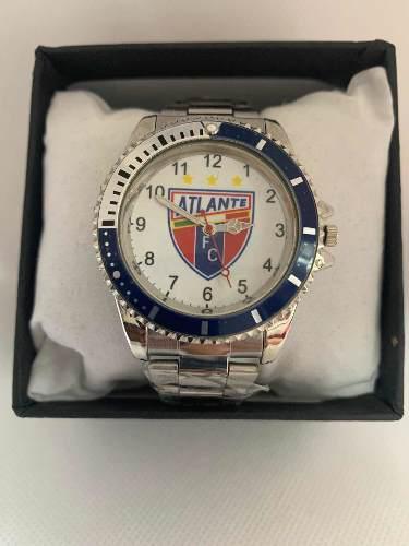 Reloj Deportivo Fútbol Atlante De Colección Acero Inox