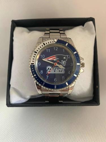 Reloj Deportivo Patriotas De Nueva Inglaterra De Colección
