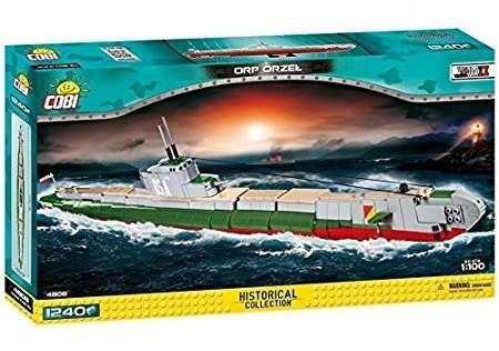 Submarino Cobi Histórico Colección Orp Orzel