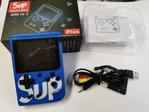 Sup,video Juego Game Boy 400 Video Juegos, Color Azul