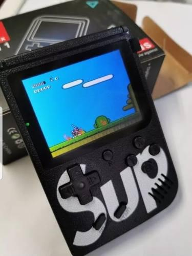 Video Juego Game Boy 400 Juegos, Sup Color Negro Y Rojo