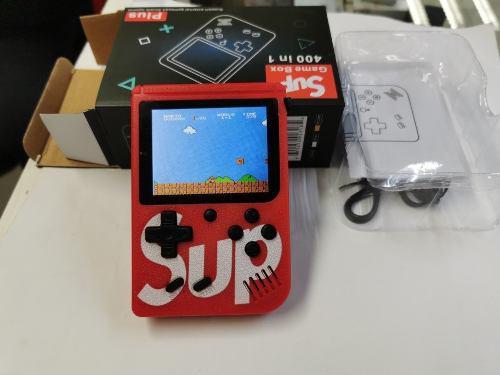 Video Juego Game Boy 400 Video Juegos, Color Rojo