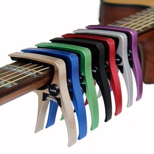 10 Capos Para Guitarra Acustica Y Electrica Aroma Colores