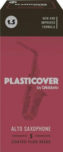 Cañas Para Saxofón Alto Plasticover - 5 Cañas/envío