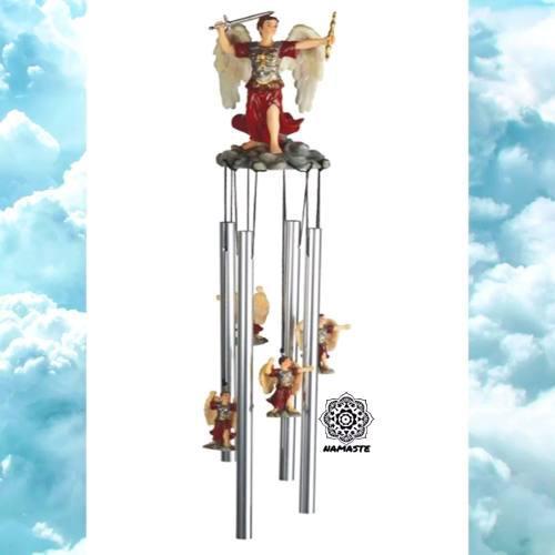 Campana De Viento San Miguel Arcángel Movil Wind Chime