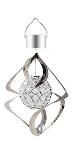 Lámpara Colgante Con Forma De Campana De Viento, Funciona C