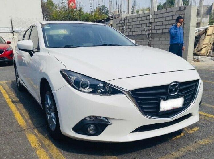 Mazda 3 2014 versión S. única dueña. Dos meses de